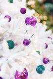 tło dekorujący nowy drzewny rok Zdjęcie Royalty Free