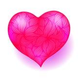 tło dekoruje elementu valentine wakacyjnego pocztówkowego royalty ilustracja