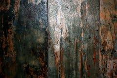 Tło deski starzeć się deski drewniany porysowany Fotografia Stock