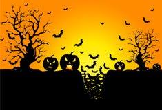Tło dla Halloweenowych świętowań Zdjęcia Stock