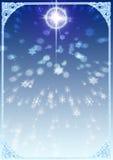 Tło dla kartki bożonarodzeniowa Ilustracja Wektor