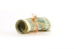 tło dolar Zdjęcia Royalty Free