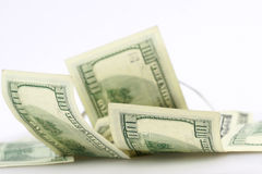 tło dolar Fotografia Royalty Free