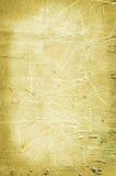 tło drapający ścienny kolor żółty Fotografia Stock