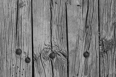 Tło drewniana tekstura w czarny i biały Zdjęcie Royalty Free