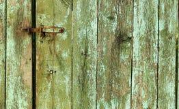 Tło drewniany ogrodzenie Zdjęcie Royalty Free