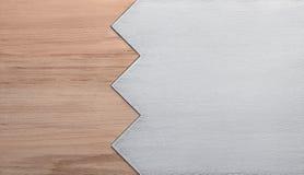 Tło drewno i metal obrazy stock