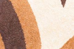 Tło dywanowa tkanina w zakończeniu up Fotografia Royalty Free