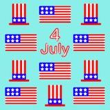 Tło dzień niepodległości Obraz Stock