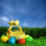 tło Easter zdjęcia stock