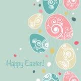 tło Easter royalty ilustracja