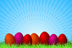 tło Easter Obrazy Royalty Free