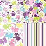 tło Easter bezszwowy set Obraz Stock