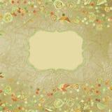 8 tło eps kartoteki kwiecistych zawierać róż vector rocznika EPS 8 Obrazy Stock