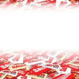 tło etykietki Fotografia Stock