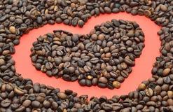 tło fasoli piękną kawową kuchni powiązana konsystencja Zdjęcie Stock