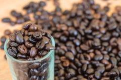 tło fasoli piękną kawową kuchni powiązana konsystencja Zdjęcia Royalty Free