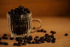 tło fasoli piękną kawową kuchni powiązana konsystencja Obrazy Stock