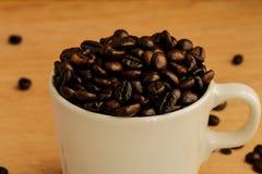 tło fasoli piękną kawową kuchni powiązana konsystencja Zdjęcie Royalty Free