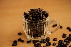 tło fasoli piękną kawową kuchni powiązana konsystencja Fotografia Royalty Free