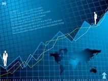 tło finansowe Obraz Stock
