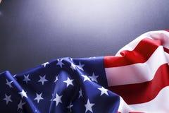 Tło flaga Stany Zjednoczone Ameryka dla krajowego federacyjnego wakacje świętowania, opłakiwać wspominanie dzień i USA symbol obraz royalty free