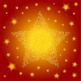 tło fryzuje gwiazdy Fotografia Stock