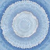 tło geometrycznego abstrakcyjne mozaika również zwrócić corel ilustracji wektora Zdjęcia Stock