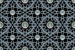 Tło geometryczni kształty 3 d czynią royalty ilustracja