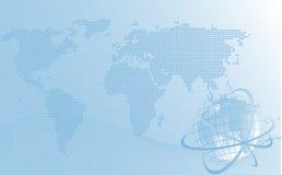 tło globalnego projektu ilustracja wektor