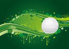 tło golf ilustracji