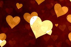 tło grępluje serc bezszwowe kostiumów valentine tapety dobrze Zdjęcie Stock