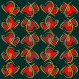 tło grępluje serc bezszwowe kostiumów valentine tapety dobrze Fotografia Stock