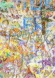 tło graffiti zdjęcia royalty free