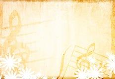 tło grunge muzyka Obraz Royalty Free