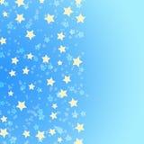tło gwiazdy błękitny złote ilustracji