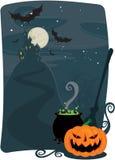 tło Halloween Obraz Stock