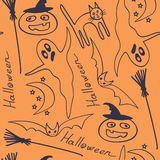 tło Halloween Fotografia Stock