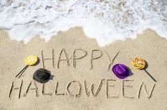 tło Halloween szczęśliwy Obrazy Royalty Free