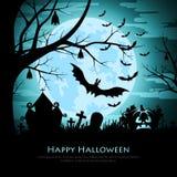 tło Halloween szczęśliwy ilustracja wektor