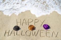 tło Halloween szczęśliwy Zdjęcia Royalty Free