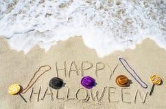 tło Halloween szczęśliwy Zdjęcia Stock