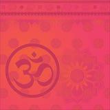 tło hindus om ilustracja wektor