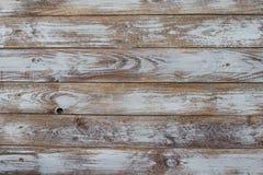 Tło i tekstura dekoracyjny stary drewno paskujący na powierzchni ścianie Fotografia Royalty Free