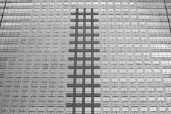 Tło i tekstura nowożytny budynku widok Fotografia Stock