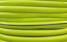 Tło i tekstura ogrodowy wąż elastyczny Jaskrawy ogrodowy w?? elastyczny zdjęcie royalty free
