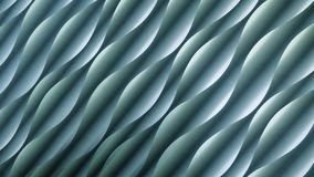 Tło i tekstura, turkus, błękit, zieleń Abstrakt fala lub spirala wzór z światłem i cienia skutkiem obrazy royalty free