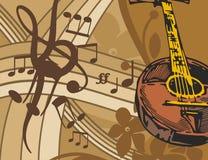 tło instrumentu muzyki ilustracji