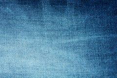 Tło jaskrawy błękitny drelich z lampasami Obraz Stock