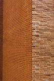 Tło kąt ściana z cegieł tekstura Obrazy Royalty Free